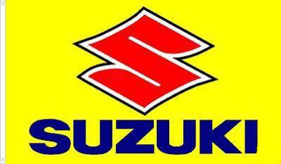 Suzuki Motocross Traditional Flag