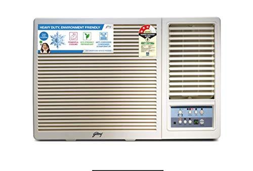 Godrej 1.5 Ton 3 Star Window AC  Copper, AC 1.5T GWC 18UTC3 WSA, White  Air Conditioners