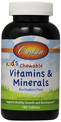 Carlson Chew Vitamins Minerals Tablets