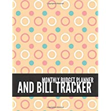 Monthly Budget Planner and Bill Tracker: Vintage Design Weekly Expense Tracker Bill Organizer Notebook Step-by-Step Guide to track your Financial Health   Personal Finance Journal Planning Workbook size 8.5x11 Inches