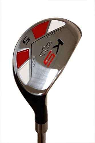 "Senior Men's Majek Golf All Hybrid Complete Full Set, which includes: #4, 5, 6, 7, 8, 9, PW +SW Senior Flex Right Handed New Rescue Utility ""A"" Flex Club by Majek (Image #6)"