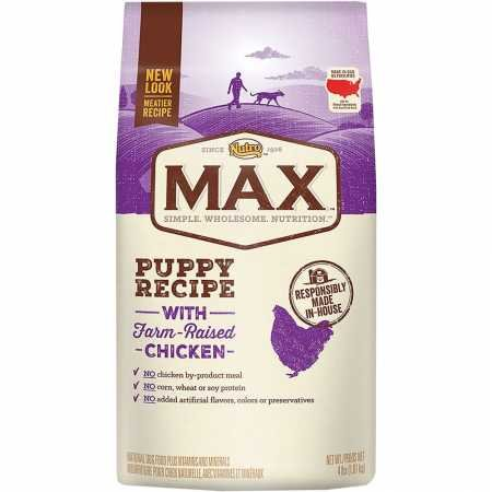 Nutro Max Puppy Food, Natural Chicken Meal And Rice 5 Lbs. ()