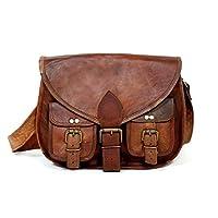 Beautifully Handmade Genuine Goat Leather Satchel Sling Shoulder Bag