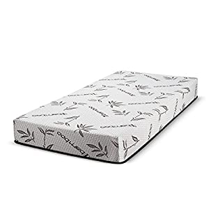 "Customize Bed Inc Fortnight Bedding 30""x74"" 8-Inch Gel Memory Foam Mattress for RV, Camping, Cot, Daybed & Guest Bed"