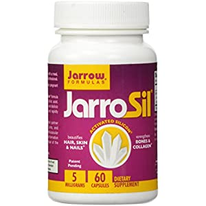 Jarrow Formulas Jarrosil 10 mg, Beautifies Hair, Skin & Nails, 60 Capsules