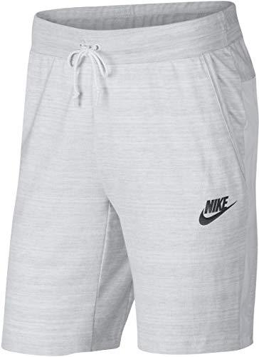 Nike Mens M NSW AV15 Short Knit 885925-100_2XL - White/HTR/White/Black
