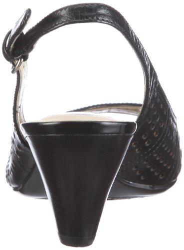 Naturalizer GALORE 219347-47306001 - Sandalias de cuero para mujer Negro