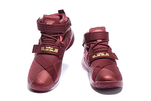 Mens-Lebron-Soldier-IX-PRM-Hi-Top-Basketball-Trainers-Shoe