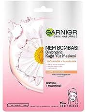 Garnier Nem Bombası Dinlendirici Kağıt Maske 32GR 1 Paket