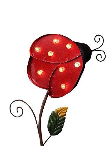 BRIGHT Ladybug Garden Lights Cherry