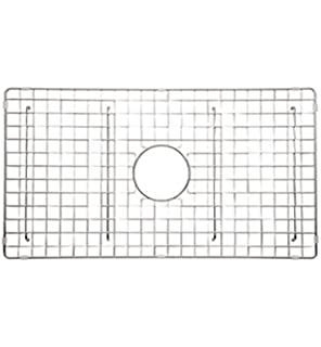 Rohl WSGUM3018SS Wire Sink Grid For Um3018 Kitchen Sinks With Center Drain  Hole, Stainless Steel