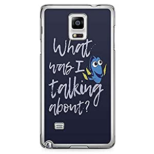Loud Universe Dory Ellen Finding Nemo Quote Samsung Note 4 Case Finding Nemo Design Samsung Note 4 Cover with Transparent Edges