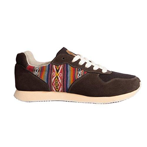 Perús Sneakers et Noir Artisanales Type Chincherro Éthiques Hommes pour La Chaussures Main À et Joggers Femmes Daim Péruviens Motifs Traditionnels Fabriquées en À FrFxTB0