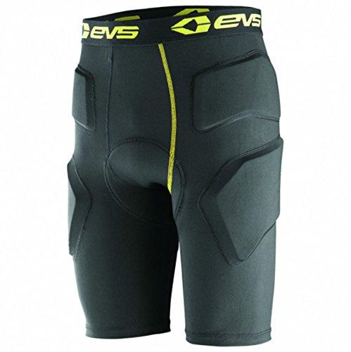 EVS Sports Unisex-Adult's Tug Bottom Impact Short (Black, X-Large)