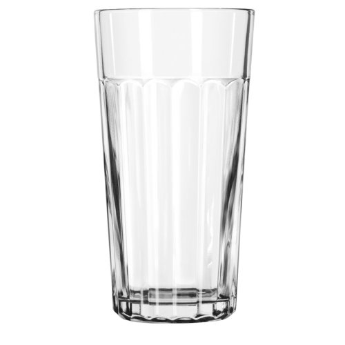 Libbey 15645, Duratuff Panel Tumbler Glass, 24 Ounce (15645LIB) Category: Iced Tea and Soda Glasses -