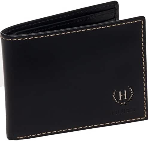 Tommy Hilfiger Wallet - Men's Genuine Leather Hove Passcase Billfold