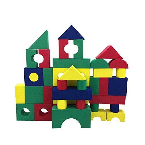 Aoneky Soft Foam Building Blocks Toys for Kids - Foam Building Blocks Kids