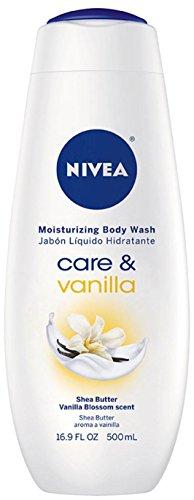 Nivea Care and Vanilla Moisturizing Body Wash - 16.9 oz