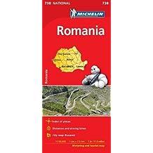 Romania - Michelin National Map 738