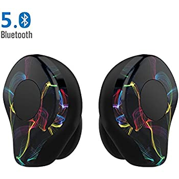 Bluetooth Earphone Headphone Wireless Earbuds - LEZII X12Pro Bluetooth 5.0 Noise Cancelling Bluetooth Earbuds Sweatproof Sport Headset, 30 Hour Playtime with Mic Bluetooth Headphone for iPhone