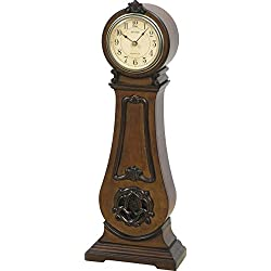 Rhythm Wsm Marie Antoinette II Wooden Musical Clock