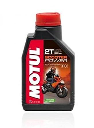 motul26 - Bote 1 Litro Aceite Motul Scooter Power 100% sintético ...