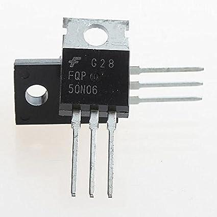 5PCS NEW FQP50N06 50N06 TO-220 Transistors MOSFET