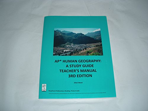 ap human geography study guide College success — including the sat ® and the advanced placement program  ap human geography course introduces students to the systematic study of.