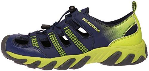 Toe Paperplanes Blue Women 5 Aqua 8 Tracking 7 Leather Green 5 1326 Shoes Closed Sandals Men qFrFER