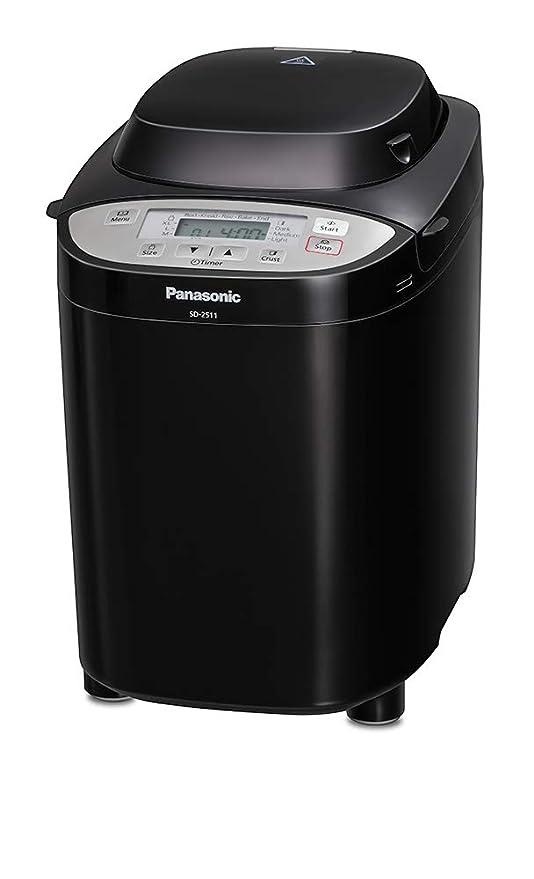 Panasonic SD-2511B panificadora multifunción negro: Amazon.es: Hogar