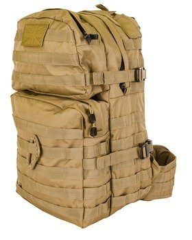 Medium Molle Assault Pack 40 Litre Coyote SUPLIED BY A&N ! by A&N