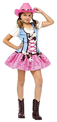 Girl's Rodeo Sweetie Halloween Costume