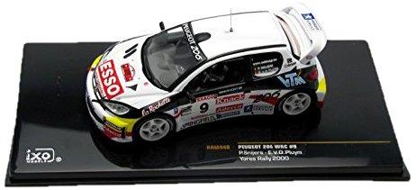1/43 プジョー206 2000年WRCラリー・イーペル#9 ドライバー:P.Snijers/E.v.d.Pluym RAM440
