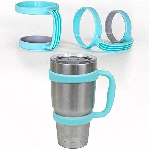 Blue Handle - YETI Cup Holder Travel Rambler Coffee Tumbler Drinkware for 30 Oz