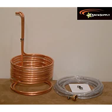 HomeBrewStuff Super Efficient 3/8  x 25' Copper Wort Chiller