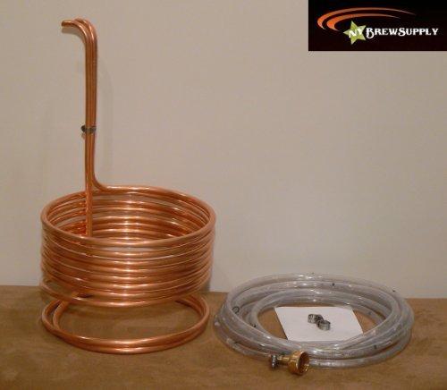 HomeBrewStuff Super Efficient 3/8' x 25' Copper Wort Chiller