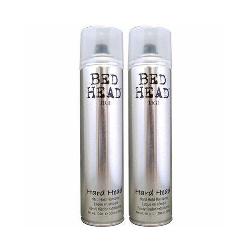 TIGI Bed Head Hard Head Hard Hold Hairspray - 10 Oz., 2 pk. (Tigi Hard Head)