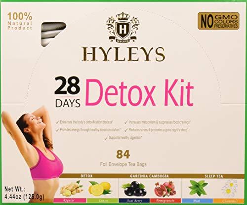 HYLEYS Tea Day Detox lemon product image