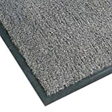 NoTrax Sabre Olefin Entrance Carpet Mat, 3' x 60', Gun Metal