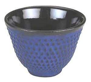 2X Japanese Cast Iron Teacup Tea Cup Hobnail Blue Tb32/B S-2132X2