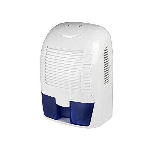 LUOYIMAN White Electric Mini Portable Air Dehumidifier for Home Intelligent Auto Off