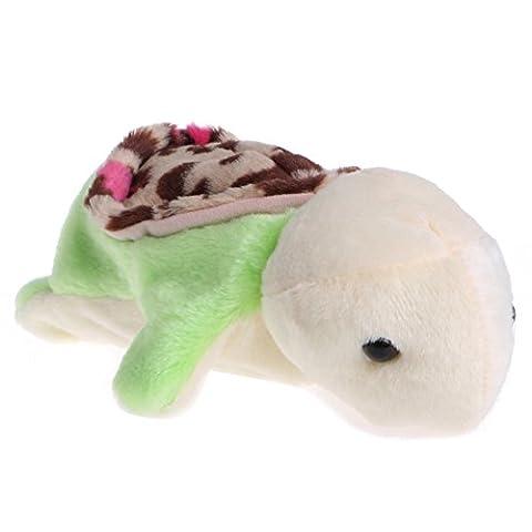 Magicub Kids Animal Hand Finger Puppet Plush Turtle Doll Baby Development Teaching Toy 1# - Horse Puppet Kit