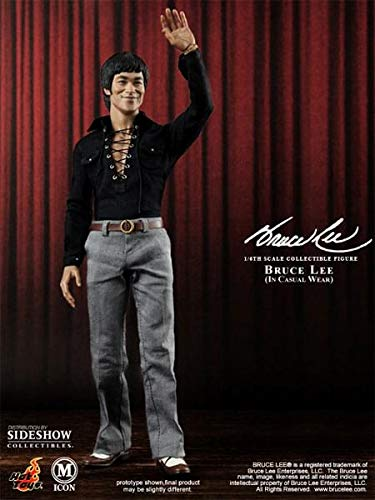 "Amazon.com: Bruce Lee 12"" cifra 70s Casual Wear versión ..."