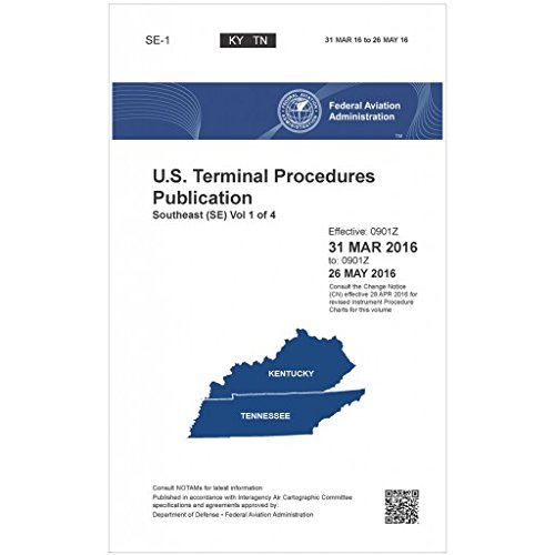 FAA IFR Terminal Procedures Bound Southeast (SE) Vol 1 of 4 (Always Current Edition)