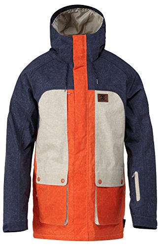 DC Shoes Mens Dc Shoes Kingdom - Snowboard Jacket - Men -...