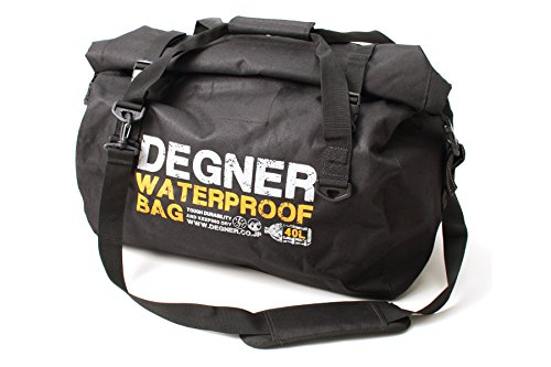 - Degner waterproof Boston bag polyester / PVC black H34xW50xD28.5 (cm) NB-115