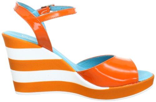 xyxyx XY26001 Damen Sandalen Orange (calendula)