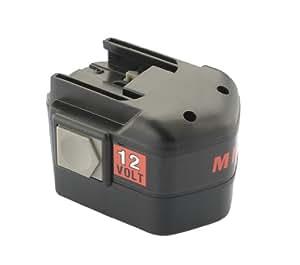 Batería [ Ni-Cd; 2000mAh; 12V ] para Milwaukee PDD12X | LOKTOR S 12TXC | LOKTOR P 12TXC | 0602-20 | 0602-22 | 0502-20 | 0501-20 | 0501-21 | 0501-23 | 6560-20 | 6560-21 | 6560-23 | 6560-24 | LokTor S 12 PX | PES 12 T | PLD 12 X