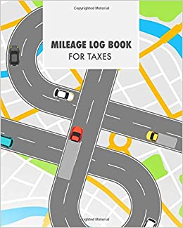 amazon com mileage log book for taxes vehicle mileage gas and