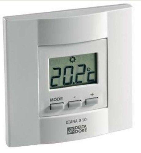 Delta Dore Thermostat Electronique Pour Chauffage Delta Dore Diana D10